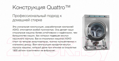 Стиральная машина Asko W6454 W