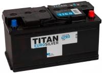 Автомобильный аккумулятор TITAN Euro Silver 110 R -