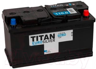 Автомобильный аккумулятор TITAN Euro Silver 110 R