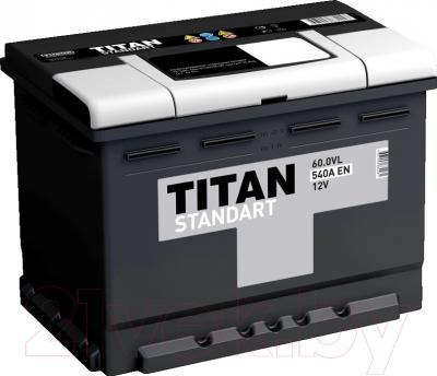 Автомобильный аккумулятор TITAN Standart 60.0VL (60 А/ч)