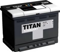 Автомобильный аккумулятор TITAN Standart 62.0VL (62 А/ч) -
