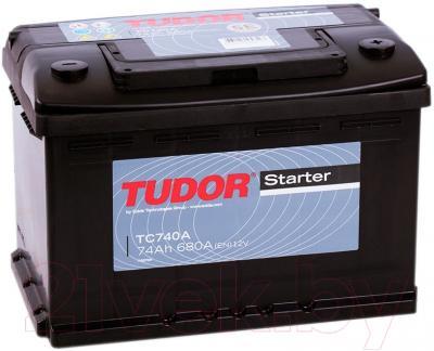 Автомобильный аккумулятор Tudor Starter 74 R (74 А/ч)