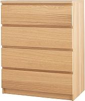 Комод Ikea Мальм 000.625.97 (дубовый шпон) -