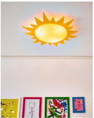 Светильник Ikea Смила Сол 000.728.84 (желтый)