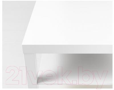 Журнальный столик Ikea Лакк 000.950.36 (белый)