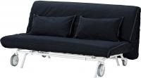 Чехол на диван - 2 местный Ikea ПС 001.848.10 (темно-синий) -