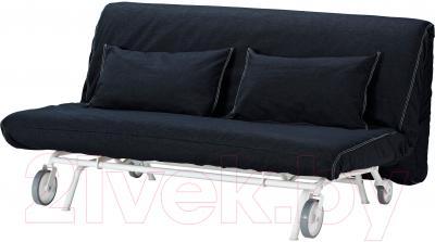 Чехол на диван - 2 местный Ikea ПС 001.848.10 (темно-синий)