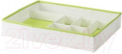 Органайзер для хранения Ikea Кусинер 001.912.93 (белый/зеленый)