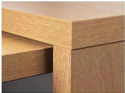 Письменный стол Ikea Мальм 002.141.81 (дубовый шпон) - Инструкция по сборке