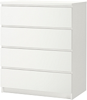 Комод Ikea Мальм 002.145.53 (белый) -