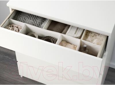 Комод Ikea Мальм 002.145.53 (белый)