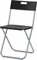 Стул Ikea Гунде 002.177.97 (черный) -