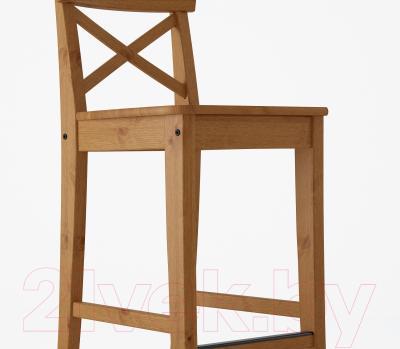 Стул Ikea Ингольф 002.178.01 (морилка/антик)