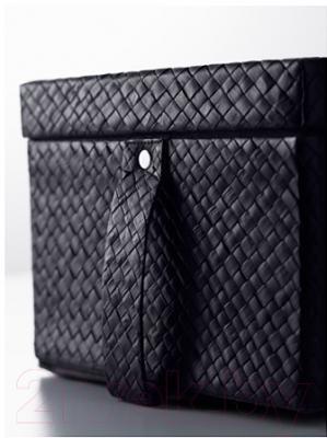 Ящик для хранения Ikea Бладис 002.193.53 (черный)