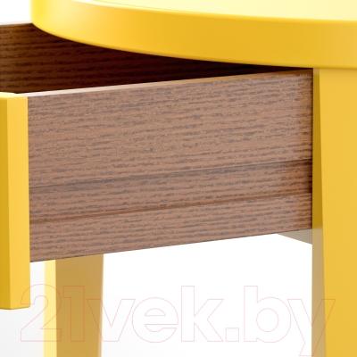 Прикроватная тумба Ikea Стокгольм 002.451.30 (желтый)