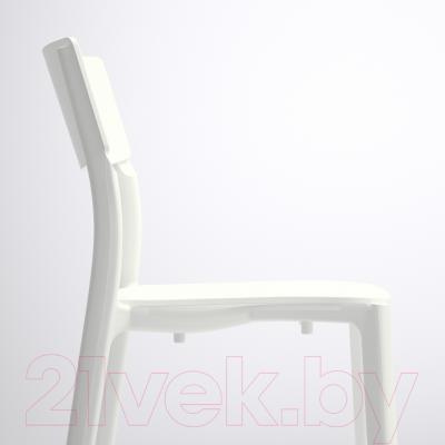 Стул Ikea Ян-Инге 002.460.78 (белый)
