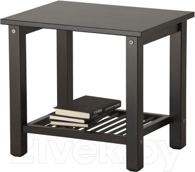 Прикроватная тумба Ikea Рикене 002.574.77 (черно-коричневый)