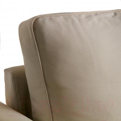Чехол на угловой диван Ikea Баккабру 002.609.36 (бежевый)