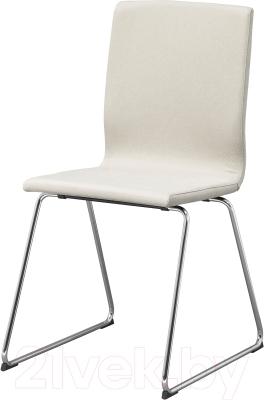 Стул Ikea Вольфганг 002.690.98 (бежевый/хром)
