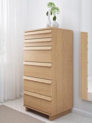 Комод Ikea Оппланд 002.691.59 (дубовый шпон)