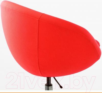 Кресло офисное Ikea Скрувста 002.800.05 - вид сзади