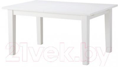 Обеденный стол Ikea Стурнэс 002.832.02 (белый)