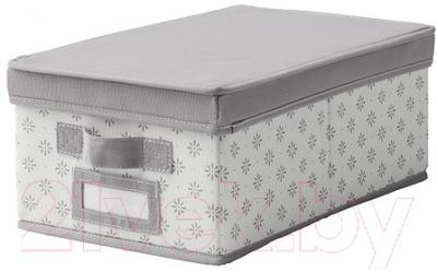 Ящик для хранения Ikea Свира 002.902.93 (серый/белый)