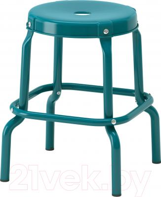 Табурет Ikea Роскуг 002.993.21 (синий)