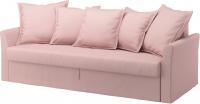 Чехол на диван - 3 местный Ikea Хольмсунд 002.995.14 (светло-розовый) -
