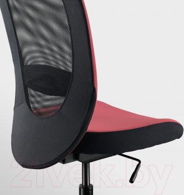 Кресло офисное Ikea Флинтан 003.097.25 - вид сзади
