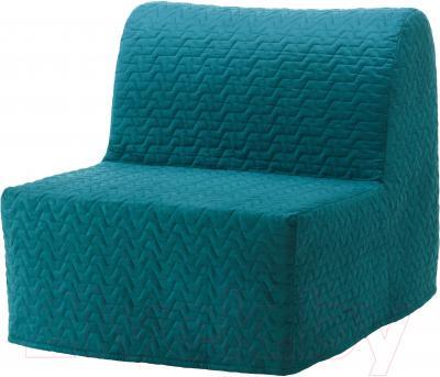 Чехол на кресло-кровать Ikea Ликселе 003.234.20 (бирюзовый)