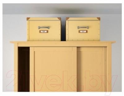 Ящик для хранения Ikea Фьелла 003.253.20 (желтый)
