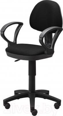 Кресло офисное Ikea Бальдриан 101.011.26 (черный/серый)