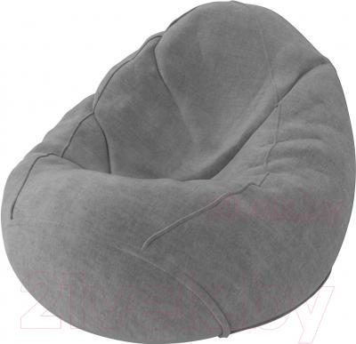 Бескаркасное кресло Meshok.by Велюр Лайт 18 (classic balls, L)