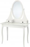 Туалетный столик с зеркалом Ikea Хемнэс 101.212.28 (белый) -
