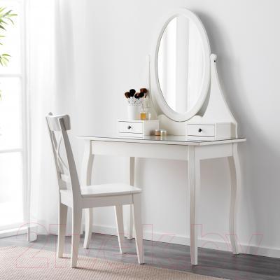 Туалетный столик с зеркалом Ikea Хемнэс 101.212.28 (белый)