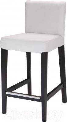 Стул Ikea Хенриксдаль 101.445.69 (коричнево-черный)