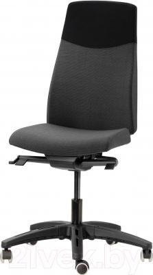 Кресло офисное Ikea Вольмар 101.737.69 (темно-серый)