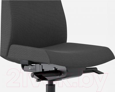 Кресло офисное Ikea Вольмар 101.737.69 (темно-серый) - вид спереди