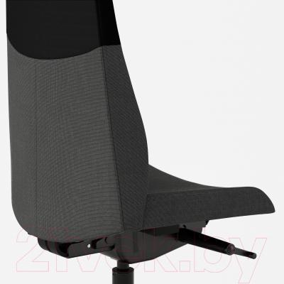 Кресло офисное Ikea Вольмар 101.737.69 (темно-серый) - вид сзади