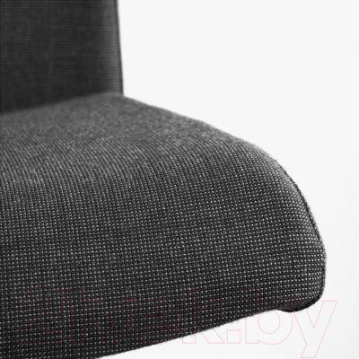 Кресло офисное Ikea Вольмар 101.737.69 (темно-серый) - обивка из ткани