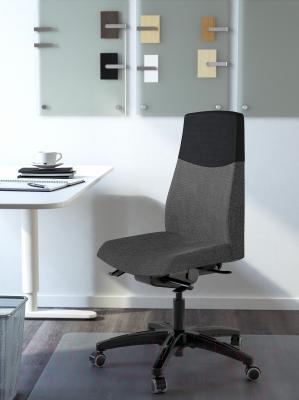 Кресло офисное Ikea Вольмар 101.737.69 (темно-серый) - в интерьере