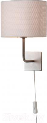 Бра Ikea Алэнг 101.757.06 (никелированный, белый) - АЛЭНГ