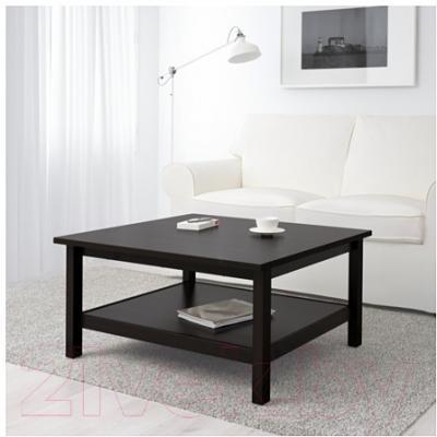 Журнальный столик Ikea Хемнэс 101.762.92 (черно-коричневый)