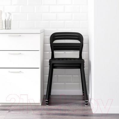 Стул Ikea Рейдар 101.775.07 (черный) - В интерьере
