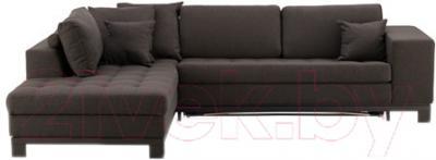Угловой диван-кровать Ikea Ногерсунд 103.157.59 (темно-коричневый)