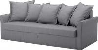 Чехол на диван - 3 местный Ikea Хольмсунд 103.213.69 (серый) -