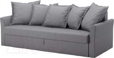 Чехол на диван - 3 местный Ikea Хольмсунд 103.213.69 (серый)