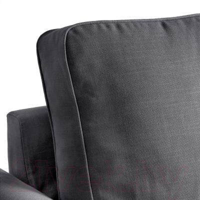 Чехол на угловой диван Ikea Баккабру 103.232.31 (темно-серый)