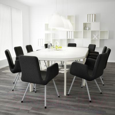 Стул офисный Ikea Патрик 200.646.23 (темно-серый Уллеви) - в интерьере